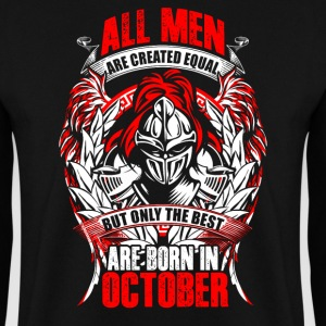 October - All men are created equal - EN Felpe - Felpa da uomo