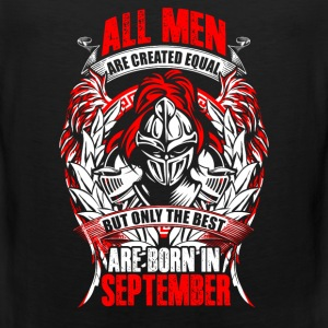 September - All men are created equal - EN Sportkläder - Premiumtanktopp herr
