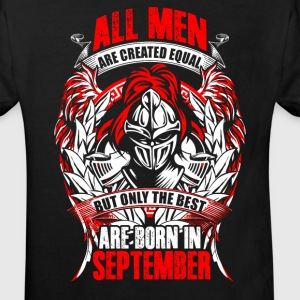 September - All men are created equal - EN Tee shirts - T-shirt Bio Enfant
