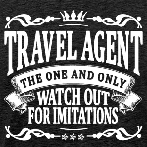 travel agent the one and only T-Shirts - Men's Premium T-Shirt