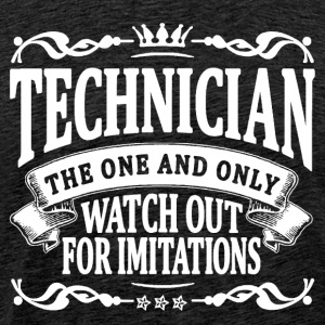 technician the one and only T-Shirts - Men's Premium T-Shirt