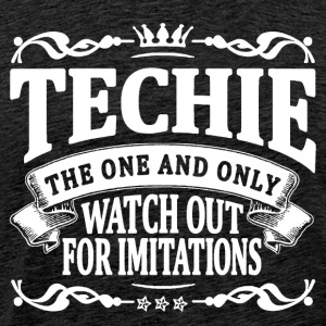 techie the one and only T-Shirts - Men's Premium T-Shirt