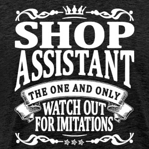 shop assistant the one and only T-Shirts - Men's Premium T-Shirt