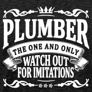 plumber the one and only T-Shirts - Men's Premium T-Shirt