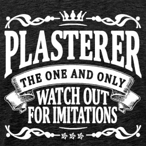 plasterer the one and only T-Shirts - Men's Premium T-Shirt