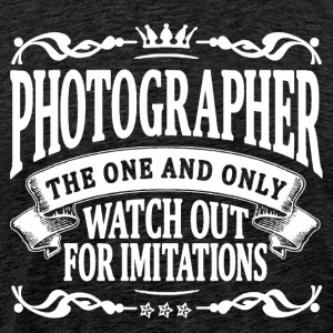 photographer the one and only T-Shirts - Men's Premium T-Shirt