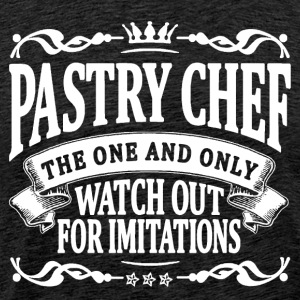 pastry chef the one and only T-Shirts - Men's Premium T-Shirt