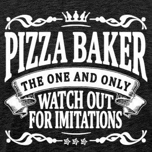 pizza baker the one and only T-Shirts - Men's Premium T-Shirt