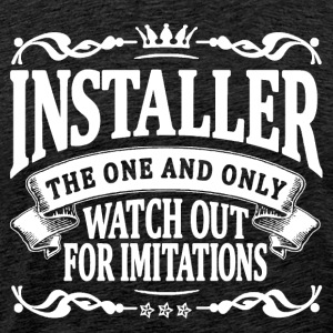 installer the one and only T-Shirts - Men's Premium T-Shirt