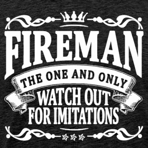 fireman the one and only T-Shirts - Men's Premium T-Shirt