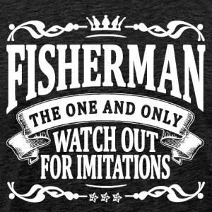 fisherman the one and only T-Shirts - Men's Premium T-Shirt
