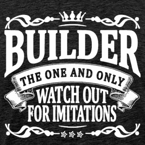 builder the one and only T-Shirts - Men's Premium T-Shirt