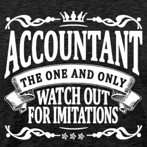 accountant the one and only T-Shirts - Men's Premium T-Shirt