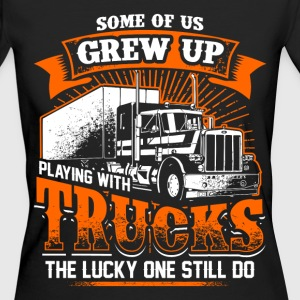 Grew Up - Trucker - EN T-Shirts - Women's Organic T-shirt