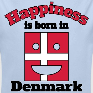 Happiness is born in Denmark Baby Bodysuits - Longlseeve Baby Bodysuit