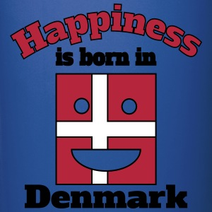 Happiness is born in Denmark Mugs & Drinkware - Full Colour Mug