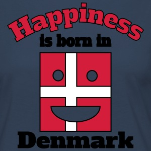 Happiness is born in Denmark Long Sleeve Shirts - Women's Premium Longsleeve Shirt