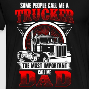 Trucker Dad - EN T-Shirts - Men's Premium T-Shirt