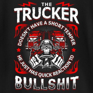 Quick Reaction to Bullshit - Trucker - EN Baby Langarmshirts - Baby Langarmshirt