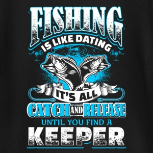 Fishing is Like Dating - Fishing - EN Baby Long Sleeve Shirts - Baby Long Sleeve T-Shirt