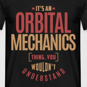 Orbital Mechanics - Men's T-Shirt