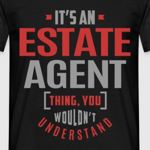 Estate Agent - Men's T-Shirt