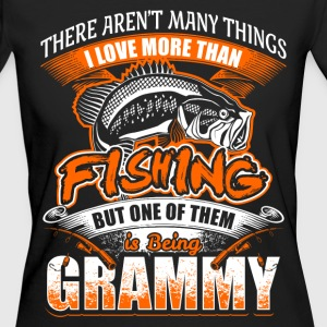 Grammy - Fishing - EN T-shirts - Ekologisk T-shirt dam