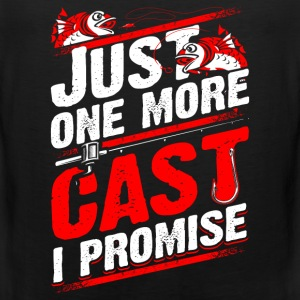 Just 1 more Cast - Fishing - EN Sports wear - Men's Premium Tank Top