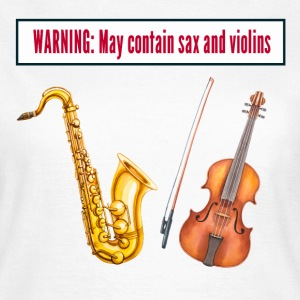 sax and violins T-Shirts - Women's T-Shirt