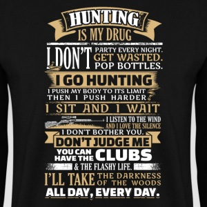 Hunting is my Drug - EN Felpe - Felpa da uomo