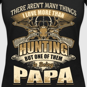 Papa - Hunting - EN T-Shirts - Women's V-Neck T-Shirt
