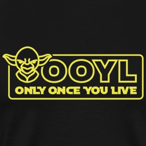 OOYL - Only Once You Live T-shirts - Premium-T-shirt herr