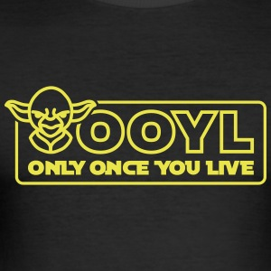 OOYL - Only Once You Live T-Shirts - Men's Slim Fit T-Shirt