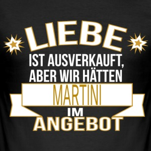 MARTINI T-Shirts - Männer Slim Fit T-Shirt