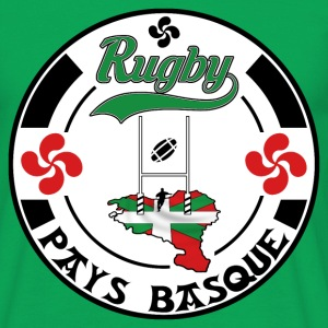 sport basque rugby 005 Tee shirts - T-shirt Homme