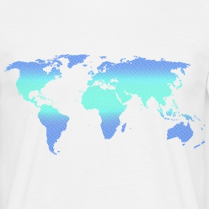 Blue World - Männer T-Shirt