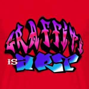 Graffiti Is Art 2C - Männer T-Shirt