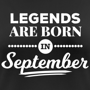 legends are born in september Geburtstag Spruch T-Shirts - Frauen T-Shirt atmungsaktiv