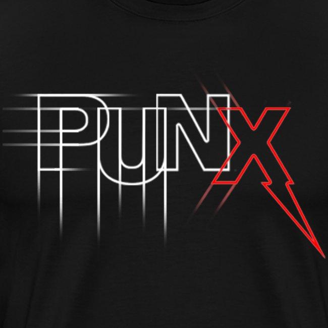 "PUNX ""sketch-black"" Tee"