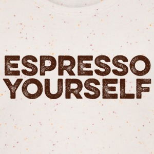 Espresso yourself - Kaffee Wortspiel Tops - Frauen Bio Tank Top