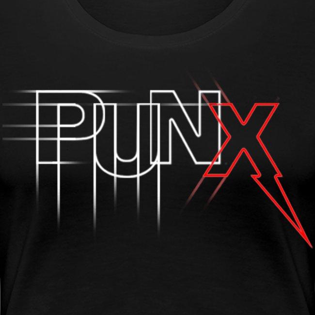 "PUNX ""scetch-black"" Tee - Woman"