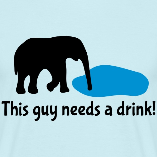 Drink Saufen Elefant