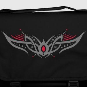 Tribal Tattoo ornament, space and robot style. Bags & Backpacks - Shoulder Bag