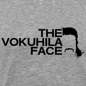 the vokuhila face Shirt - Männer Premium T-Shirt