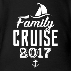 Family Cruise 2017 Baby Bodys - Baby Bio-Kurzarm-Body