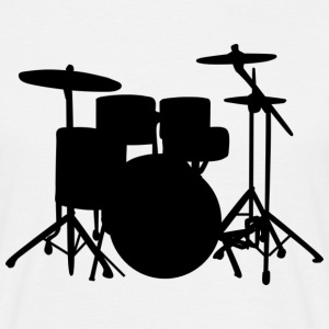 Drums  - Men's T-Shirt