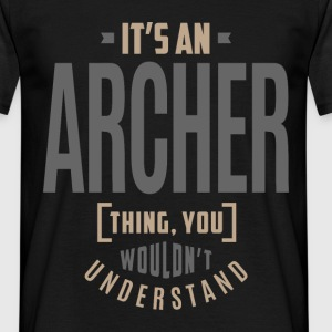 Archer - Men's T-Shirt