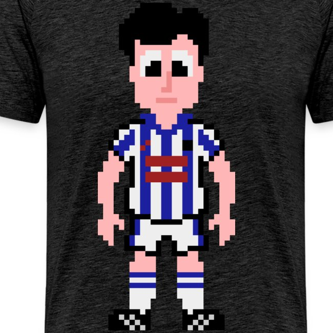 David Burke Pixel Art T-shirt