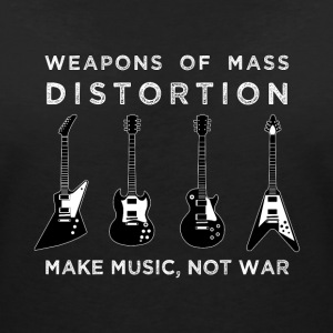 Weapons Of Mass Distortion (Ladies) - Vrouwen T-shirt met V-hals