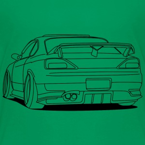 cool car outlines Shirts - Kinderen Premium T-shirt
